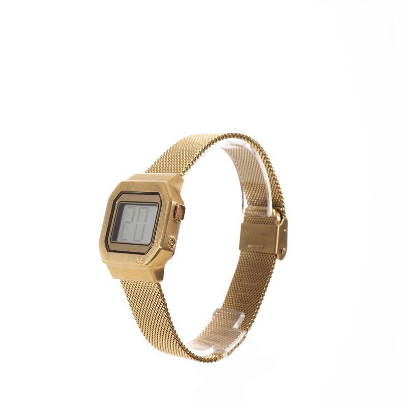 Reloj-Digital-de-Acero-Inoxidable-en-Color-Oro-|-Cloe