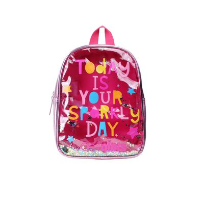 Mochila Cloe Girls Confeti en Color Rosa