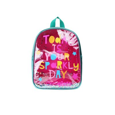 Mochila Cloe Girls Confeti en Color Turquesa