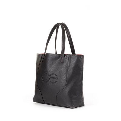 Bolsa Tote 3 en 1 en Color Negro-Tinto