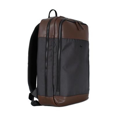 "Mochila Uomo Porta Laptop 15"" con Bolsillos en Color Cafe"