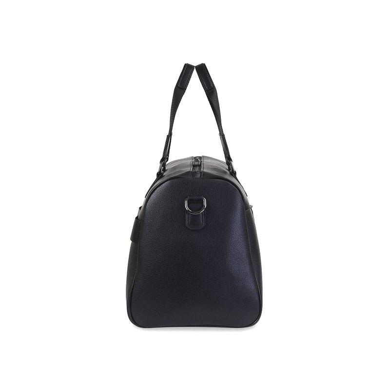 Maleta-Duffle-Bag-Uomo-de-Piel-en-Color-Negro- -Cloe
