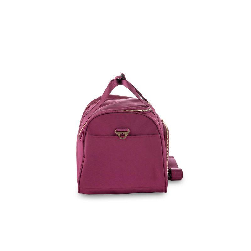Duffle-Bag-Detalles-Metalicos-en-Color-Tinto-|-Cloe