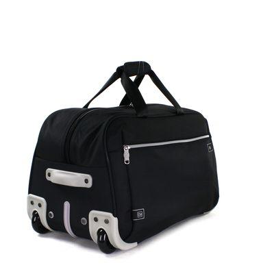 Duffle Bag con Ruedas en Color Negro