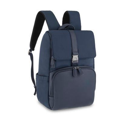 "Mochila Porta Laptop 14"" Uomo en Color Marino"