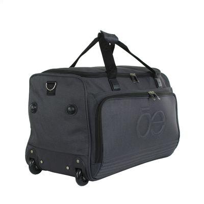"Duffle Bag 13"" Logo en realce en Color Negro"