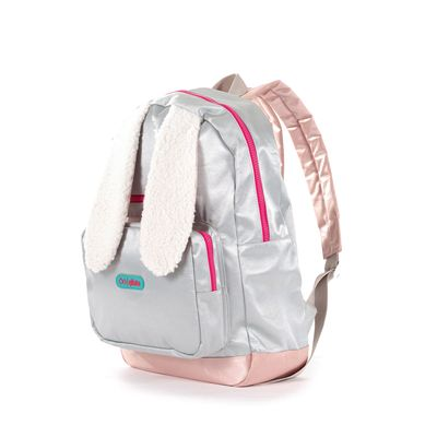 Mochila Cloe Girls en Color Plata