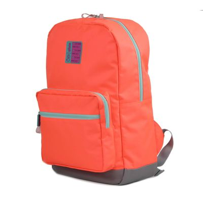 "Mochila Porta Laptop 14"" en Color Naranja"