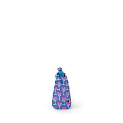 Bolsa Crossbody Cloe by Agatha Ruiz de la Prada Print de Corazones Color Azul Electrico