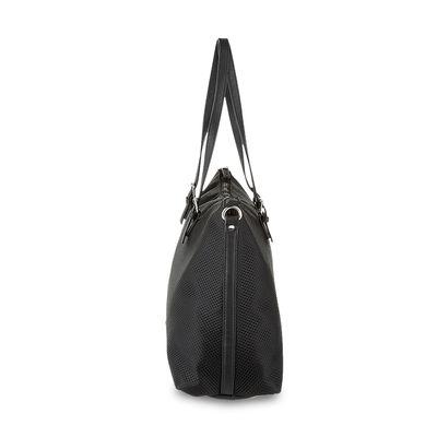 Bolsa Tote de Mesh Neón en Color Negro