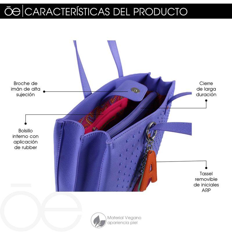 Bolsa-Tote-Cloe-by-Agatha-Ruiz-de-la-Prada-con-Estoperoles-en-Color-Magenta-|-Cloe