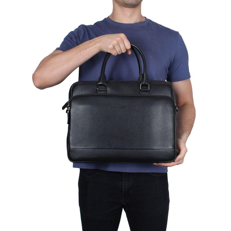Malet�n-Porta-Laptop-14--de-Piel-en-Color-Negro-|-Cloe