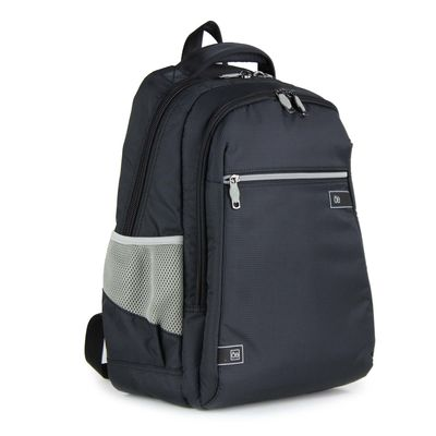 "Mochila Textil Porta Laptop 15"" en Color Negro"