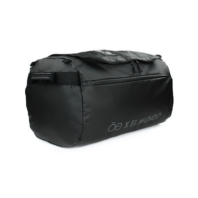 Duffle bag Cloe Alan Por El Mundo en Color Negro