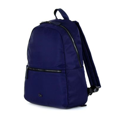 "Mochila Porta Laptop 13"" de Nylon en Color Marino"