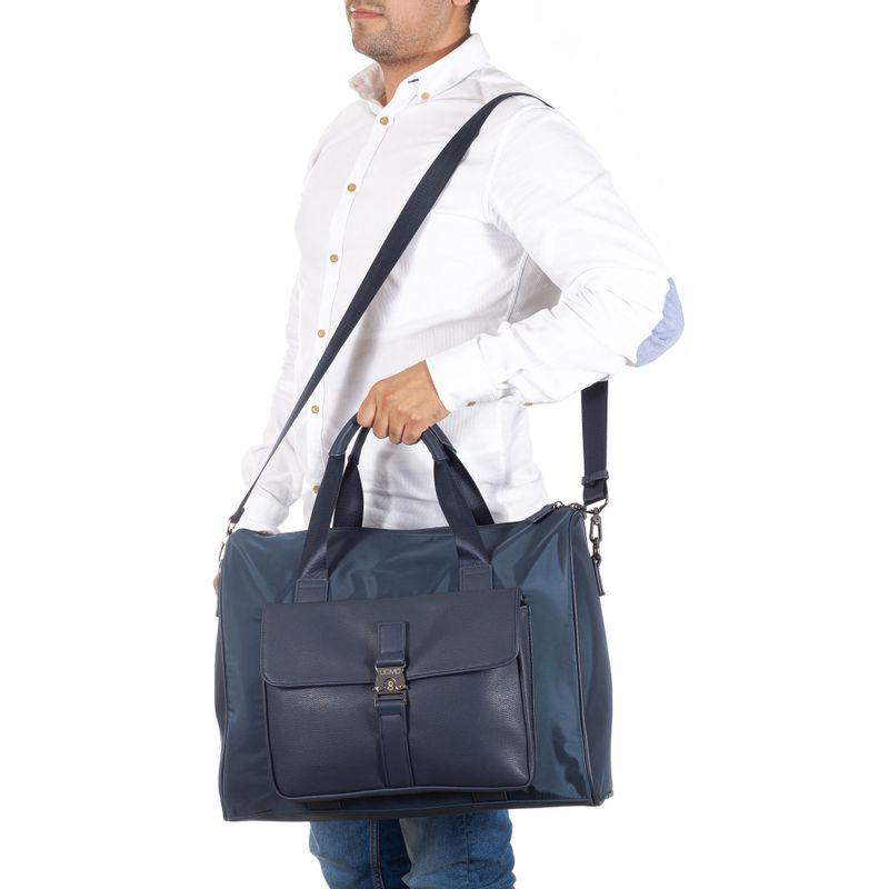 Duffle-Bag-Porta-Laptop-14--Uomo-en-Color-Marino-|-Cloe