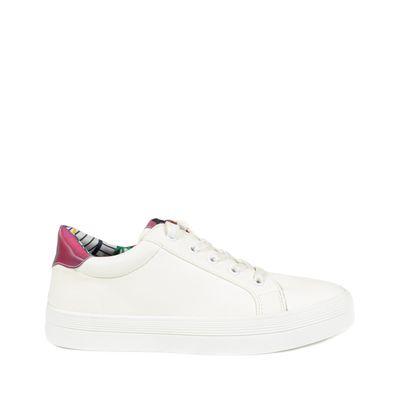 Tenis Slip-on Color Blanco