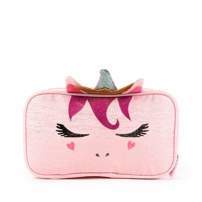 Porta Lápices Cloe Girls Rosa Con Diseño De Unicornio