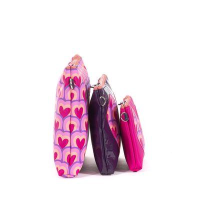 Set De Cosmetiqueras Cloe Y Agatha Ruiz De La Prada Con Corazones