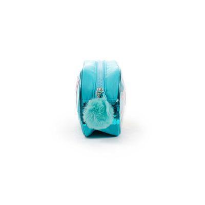 Porta Lápices Cloe Girls Azul Con Lentejuelas Y Pompones