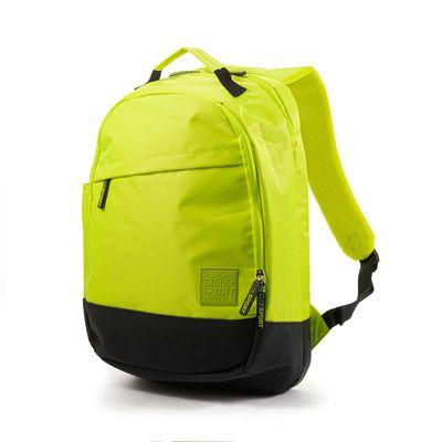 Mochila Porta Laptop 15 Pulgadas Cloe Sport Verde Con Múltiples Compartimentos