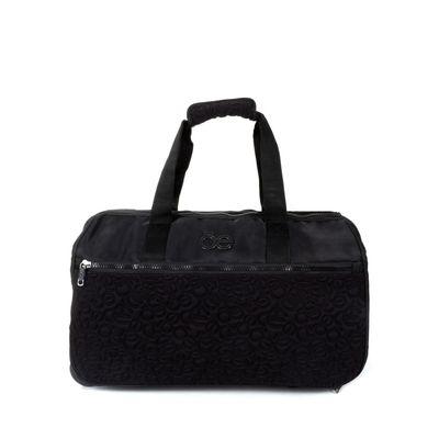 Duffle Bag Con Ruedas Color Negro