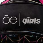 Mochila-Porta-Laptop-14-Pulgadas-Cloe-Girls-Negra-con-Estrellas-en-Color-Negro- -Cloe