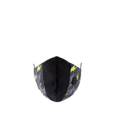 Cubrebocas Ergonómico Print Color Negro