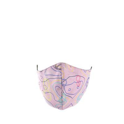 Cubrebocas Ergonómico Doble Vista Print Color Pathé