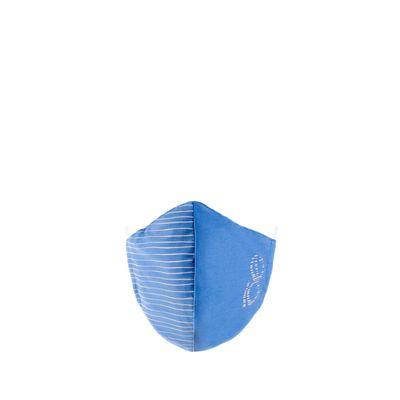 Cubrebocas Ajustable Doble Print Color Azul