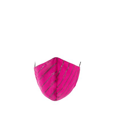 Cubrebocas Ajustable Print Color Magenta