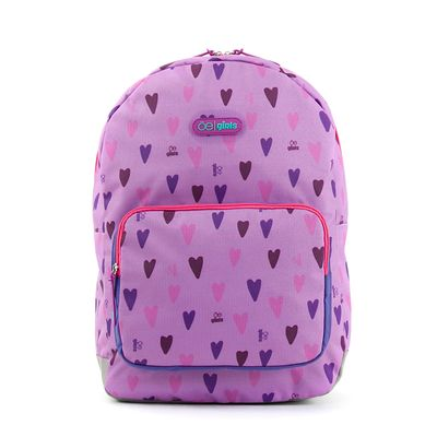 Mochila Cloe Girls con Estampado y Organizador Interno en Color Lila