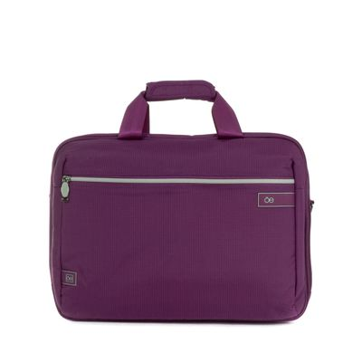 "Porta Laptop Textil de 15"" en Color Morado"