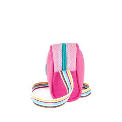 Bolsa Crossbody Cloe Girls Asa de Webbing en Color Magenta