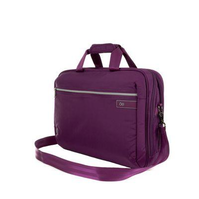 """Porta Laptop Textil de 15"""" en Color Morado"""
