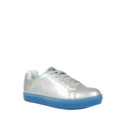 Tenis Slip-on Color Plata