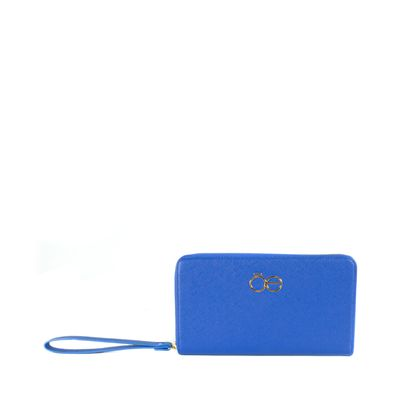 Cartera Porta Documentos Color Azul Eléctrico