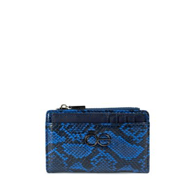 Cartera Flap Look Vipera Color Marino
