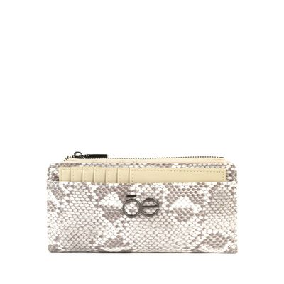 Cartera Flap Look Vipera Color Fango