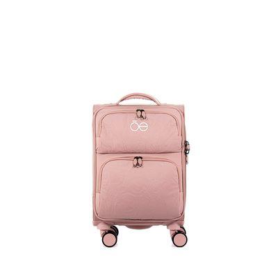 """Maleta Extra Chica De Cabina 16"""" Color Rosa"""