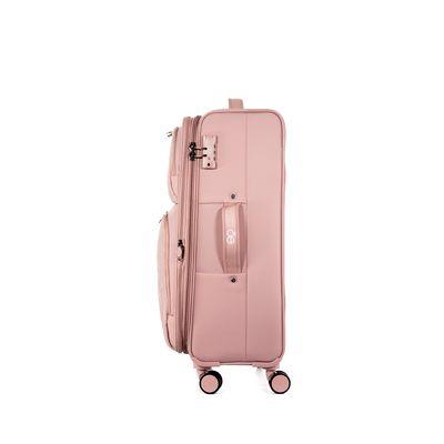 """Maleta Expandible Mediana 24"""" Color Rosa"""