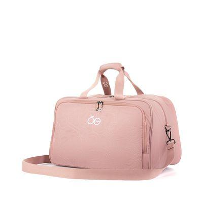 Duffle Bag De Nylon Color Rosa