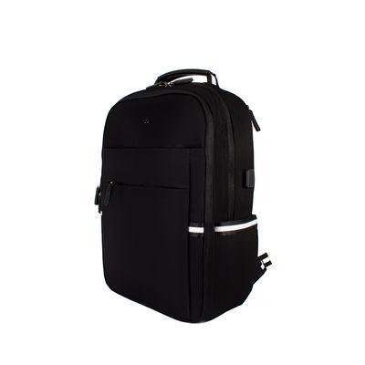 "Mochila Porta Laptop De 14"", Color Negro"