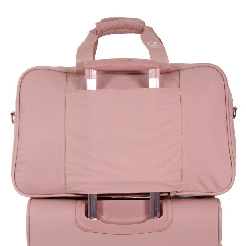 Duffle-bag-de-nylon-color-rosa-en-Color-Rosa-|-Cloe