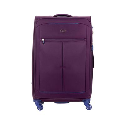 "Maleta Vertical Ultraligero de 28"" en Color Morado"