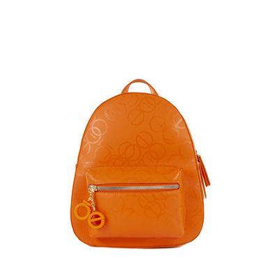 Mochila Chica Color Naranja