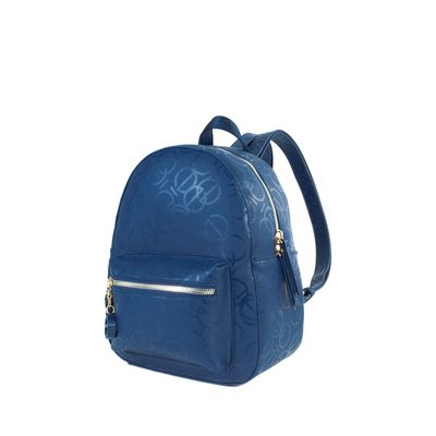 Mochila Chica Color Azul Marino