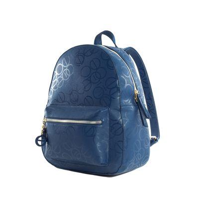 Mochila Grande Color Azul Marino