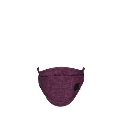 Cubrebocas Con 4 Capas De Protección Ajustable Color Morado