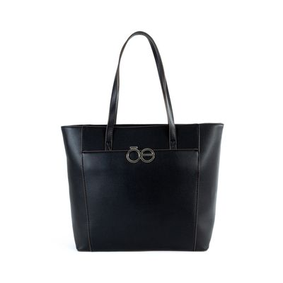 Tote Atemporal Color Negro